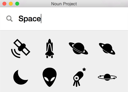 Noun Project Mac App