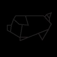 Origami Facile Animaux - Origami Pigs ♥ | Origami pig, Origami ... | 200x200