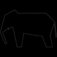 Elephant Icon 22148