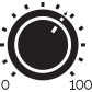Control dial Icon