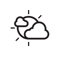 Mostly Cloudy Day Icon