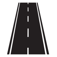 Straight Road Icons - Download Free Vector Icons | Noun ...