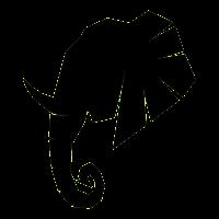 Elephant Icon 56598