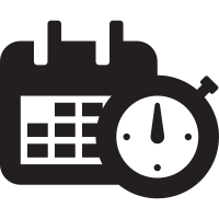 Date and Time Icon 9143