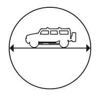 Gyro Pitch Angle Icon